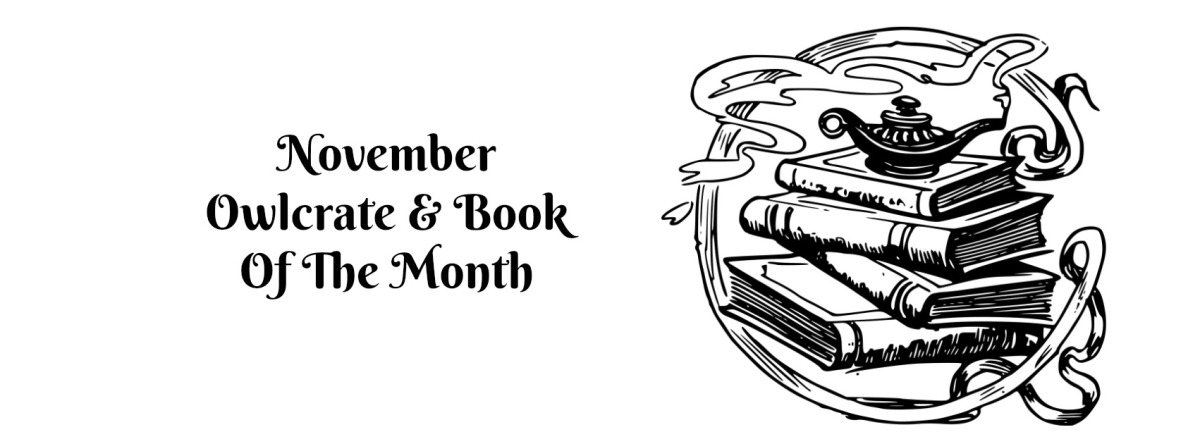 November Owlcrate & Book Of The Month