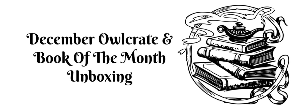December Owlcrate & Book Of The MonthUnboxing