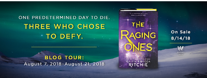 THE RAGING ONES BLOG TOUR!!!🚀