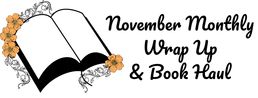 November Monthly Wrap-Up & Book Haul