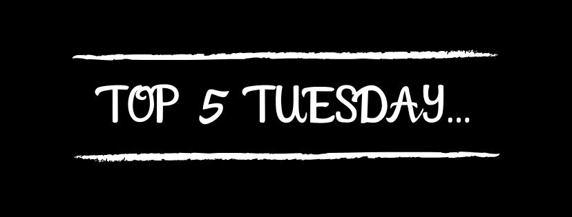 TOP 5 TUESDAY: TOP 5 SERIES I WANT TO START…