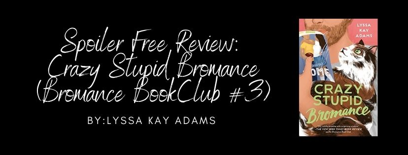 Crazy Stupid Bromance (Bromance Book Club #3) by Lyssa Kay Adams