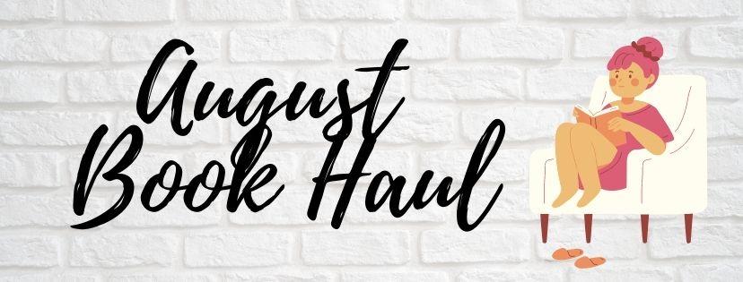 August 2020 BookHaul